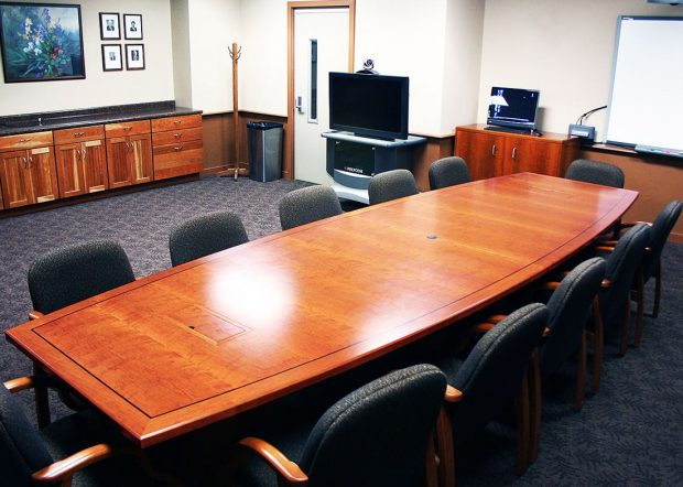 Michigan State University Conference Table with Power