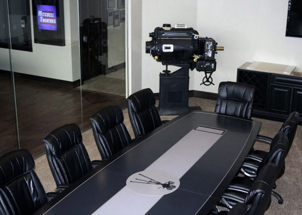 Mitchell Theatres Executive Office Conference Table