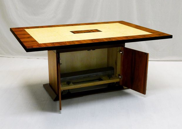 NASA CRF Custom Conference Table with Storage
