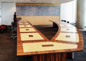 NASA CRF Custom Modular Conference Table