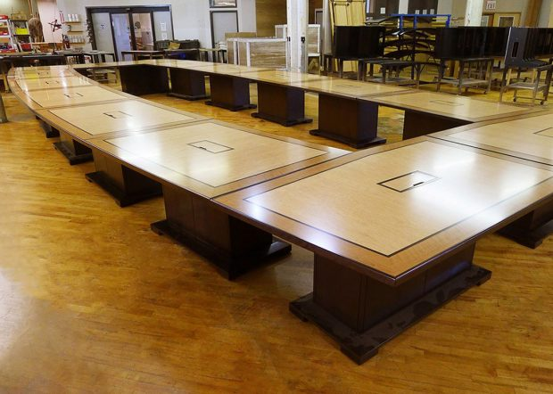 NASA Glenn Research Center Modular Meeting Table