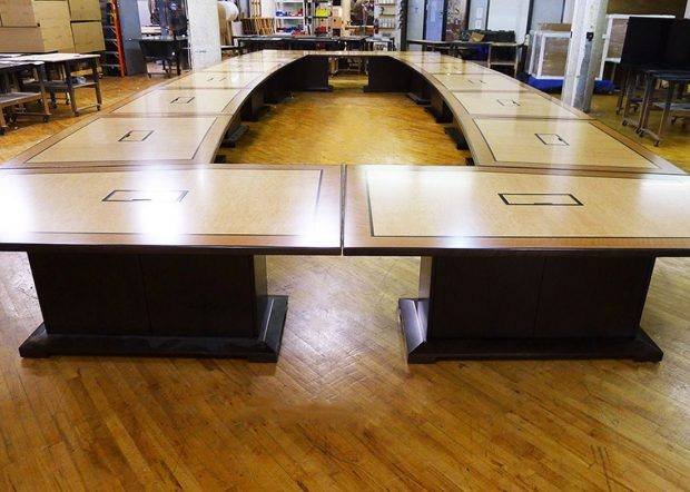 NASA Glenn Research Center Reconfigurable Conference Room Tables