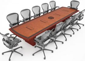 Nebraska Machinery Custom Rectangular Conference Table