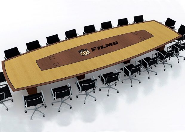 NFL Films Boat Conference Table with Power