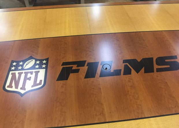 NFL Films Custom Board Meeting Table