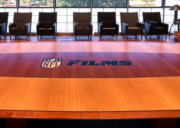 NFL Films Custom Boardroom Conference Table