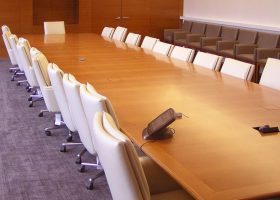 NY Jets Custom Long Modern Conference Table