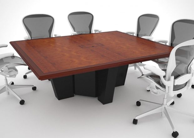Pohlyco Almost Square Conference Table