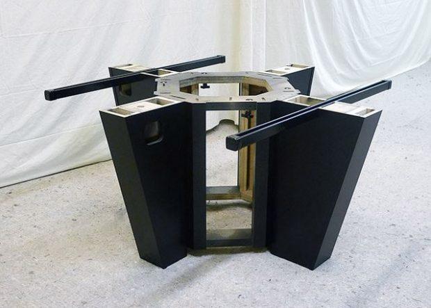 Pohlyco Custom Square Boardroom Table