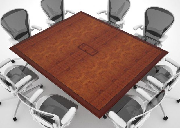 Pohlyco Square Conference Table for 8