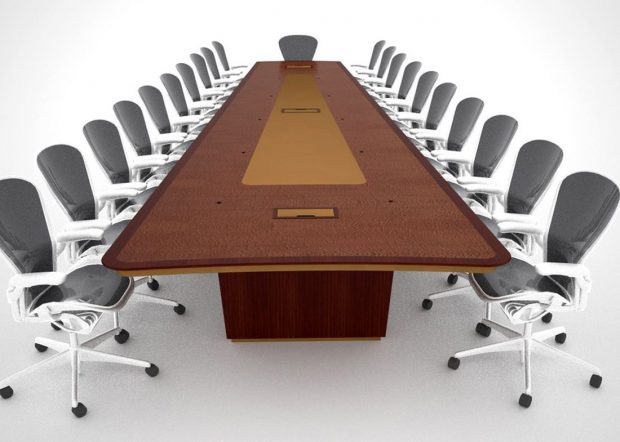 Recovery Innovations Large Conference Room Table