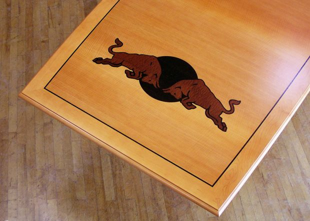 Red Bull Custom Boardroom Table with Logo