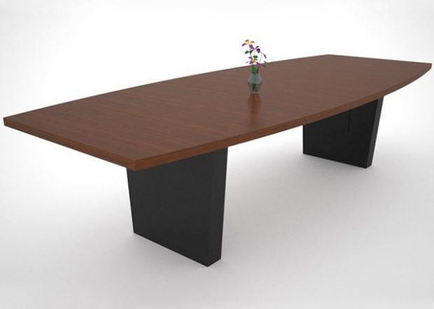Reno Tahoe Custom Walnut Meeting Table