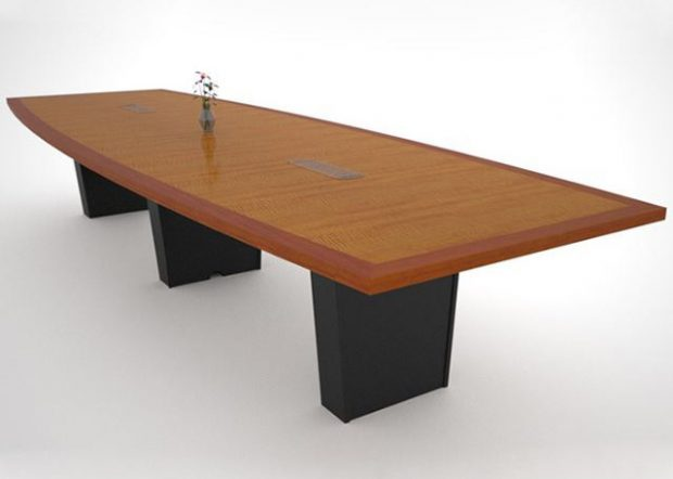 Rhenium Alloys Boat Shaped Conference Table