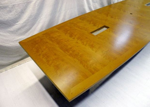 Rhenium Alloys Custom Conference Table with Data Ports