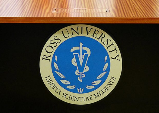 Ross University Custom Mahogany Conference Table