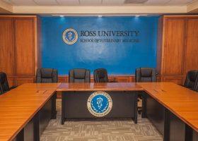 Ross University Custom Modular Conference Table