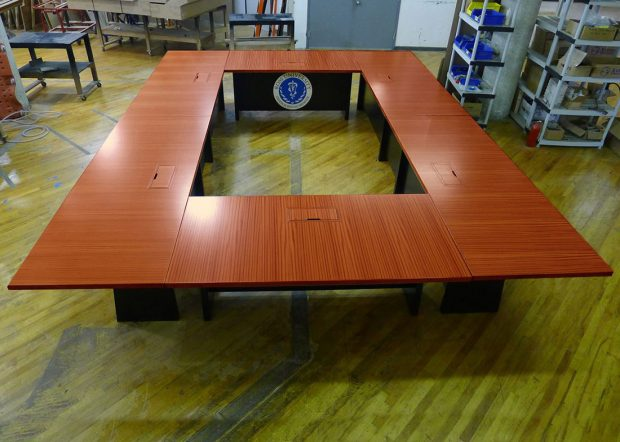 Ross University Modular Conference Room Tables with Power