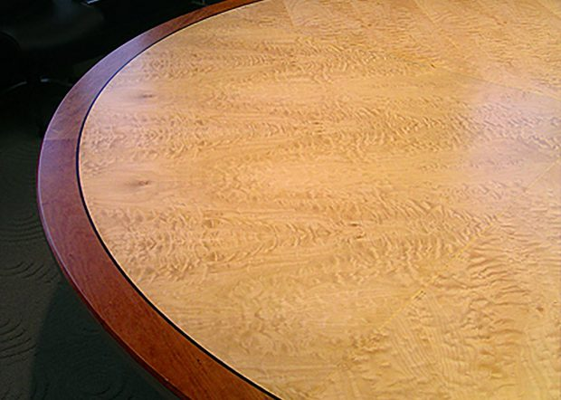 Rowan University Modern Round Conference Table
