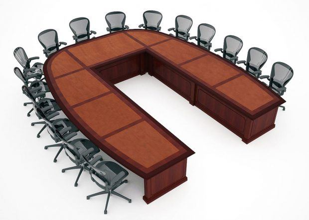 Sargento U Shaped Large Conference Table