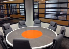 Saritasa Custom Modern Round Conference Table