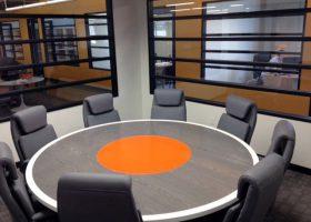 Saritasa Custom Modern Round Conference Table