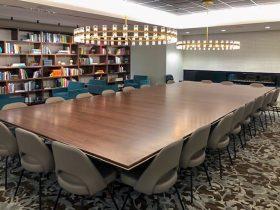 unique conference table