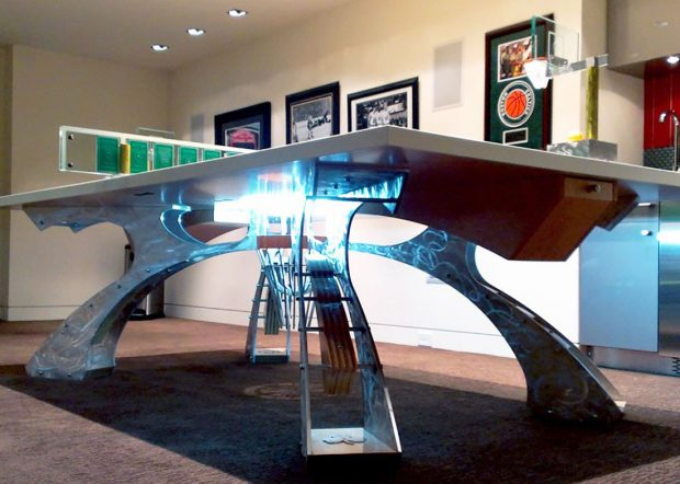 Hurricane Billiards Rectangle Custom Conference Table