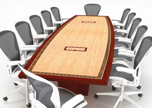 MCR Oil Tools 12 Person Conference Table