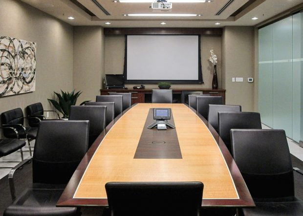 MCR Oil Tools Boardroom Conference Table
