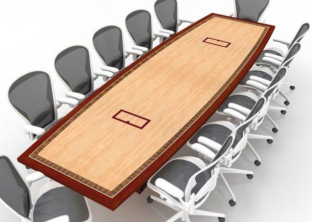 MCR Oil Tools Custom Board Meeting Table