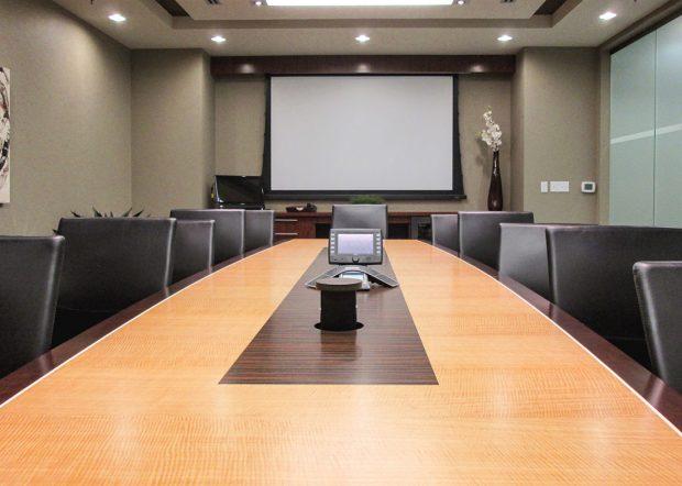 MCR Oil Tools Custom Boardroom Table