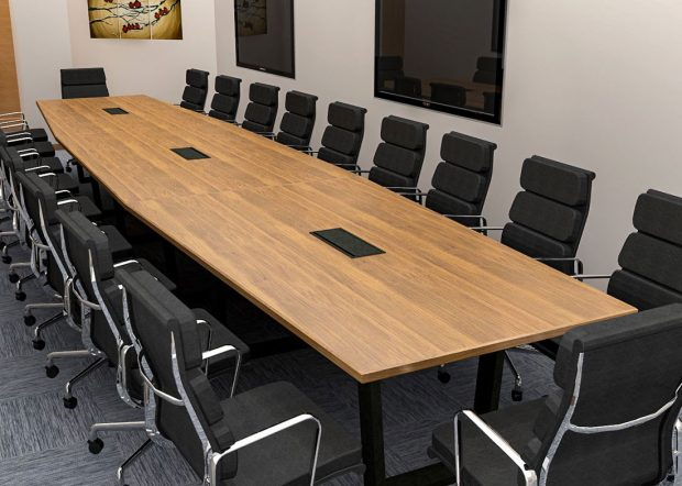 Peak 8 Construction Custom Modular Conference Table