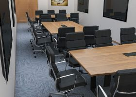 Peak 8 Construction Modular Conference Room Tables