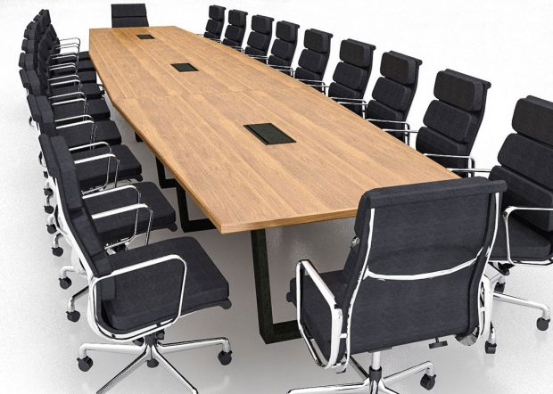 Peak 8 Construction Movable Conference Tables