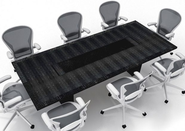 Phillips and Angley Modern Wood Conference Table