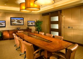 Sartini Custom Boardroom Conference Table