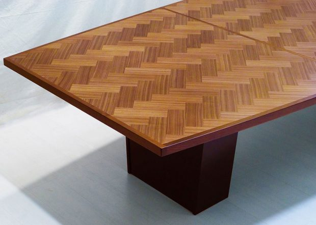 Schanen Company Custom Walnut Meeting Table