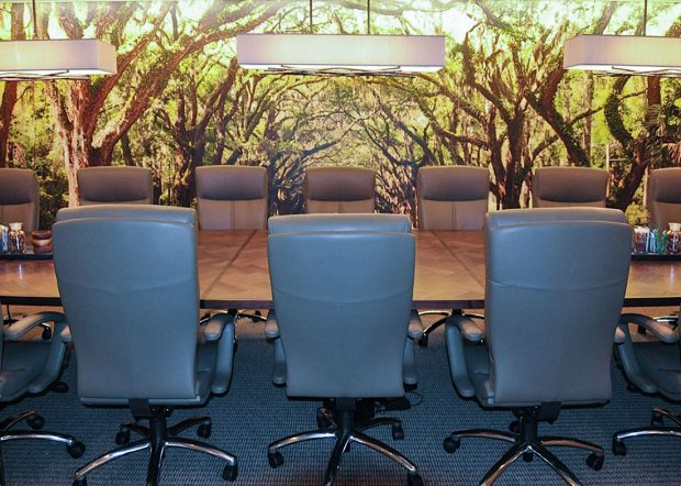 Schanen Company Large Conference Room Table