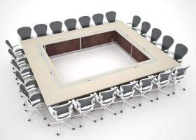 Sensata Custom Modular Conference Room Tables