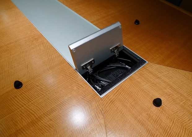 Shorenstein Conference Table with Power