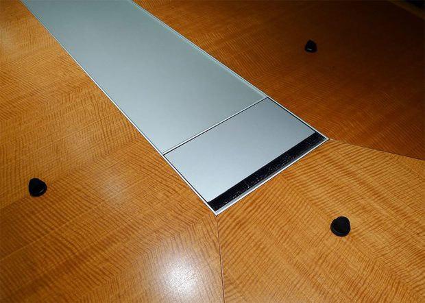 Shorenstein Modern Conference Table with Power