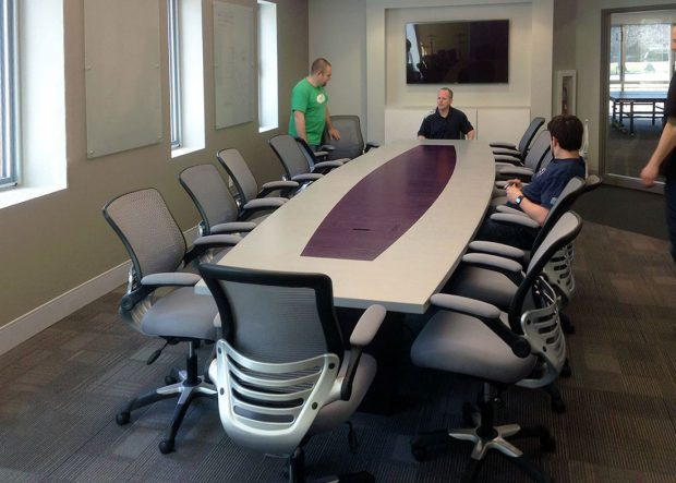 Sperry Innovations Boat Shaped Conference Table