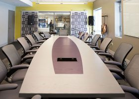Sperry Innovations Conference Table with Power