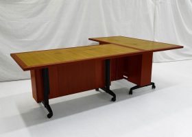 St. Jude Custom Conference Table on Wheels