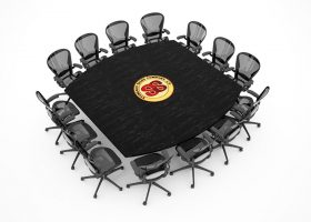 Standard Sales Boat Shaped Square Conference Table