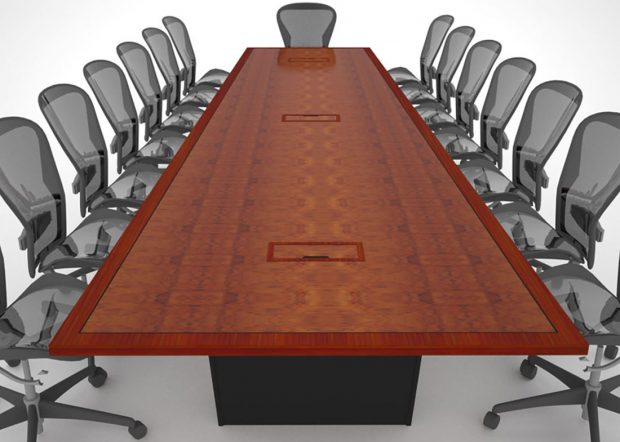 Stasia Berk Custom Video Conference Table