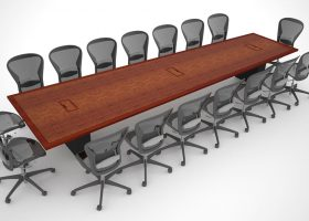 Stasia Berk Modern Conference Room Table