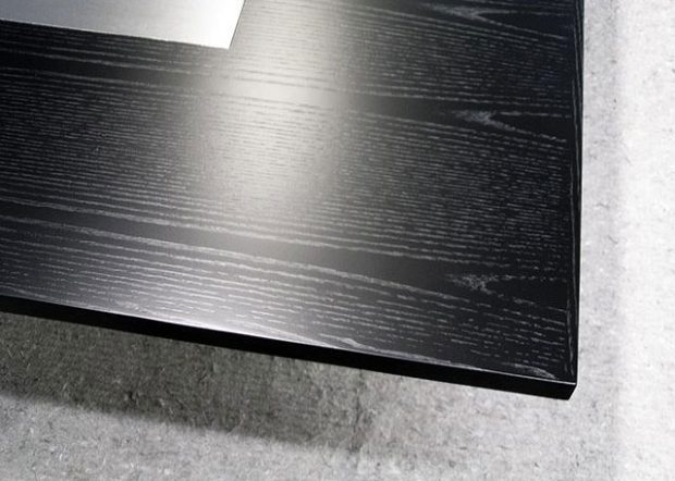 Stevens Love Custom Ebonized Oak Conference Table