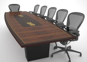 Stillwater Rectangular Conference Table with Power